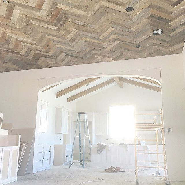 Scheffyconstruction S Photo Quot Herringbone Ceiling