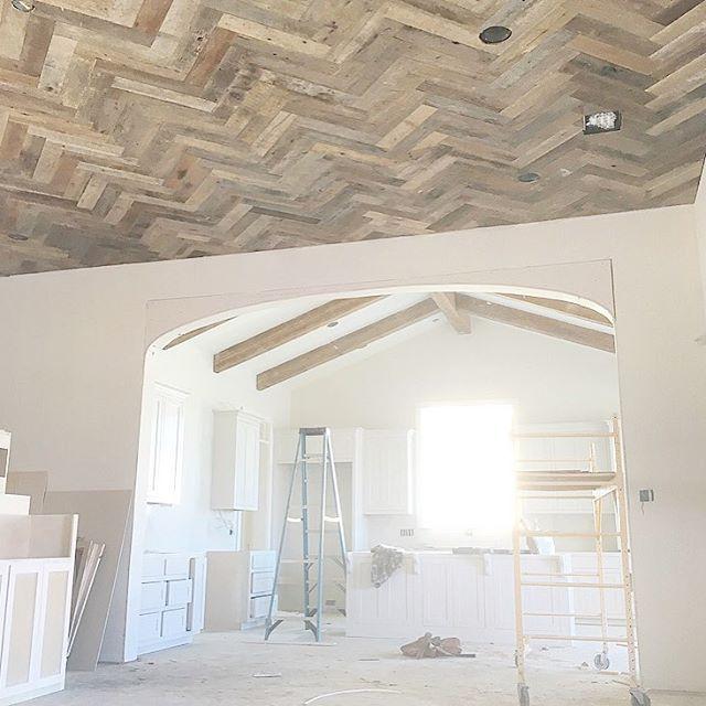 scheffyconstructions photo Herringbone ceiling  Trim
