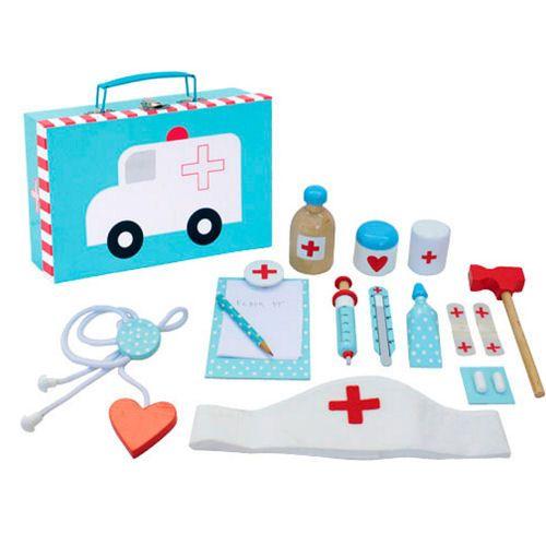 Lääkärinlaukku lapsille http://lahjaopas.info/lahjat/laakarinlaukku-lapsille/ #lahjaideat #lapselle