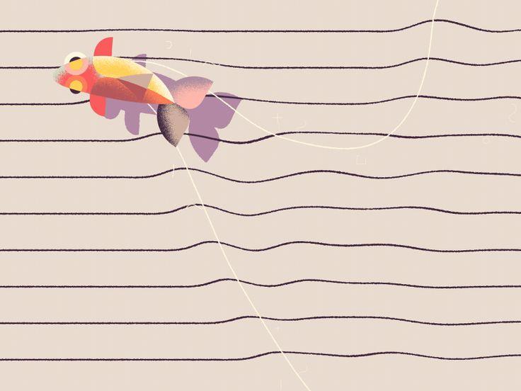 Agassiz' Fish by Jorge R Canedo Estrada - Dribbble