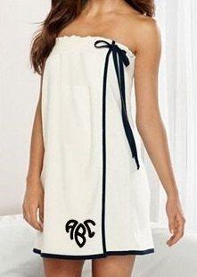 Monogrammed Towel Wrap. Spa Wrap. Bridesmaid Towel Wrap Embroidery Towel Wrap. Personalized Gift. Bath Towel Wrap. Graduation Gift.