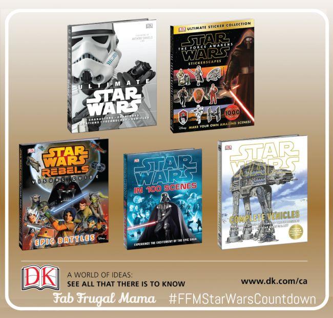 DK Book Prize Pack Giveaway - enter now! Ends Dec. 9, 2015 @ 11:59pm EST. Enter now: http://fabfrugalmama.com/2015/12/star-wars-countdown-dk-books-giveaway.html