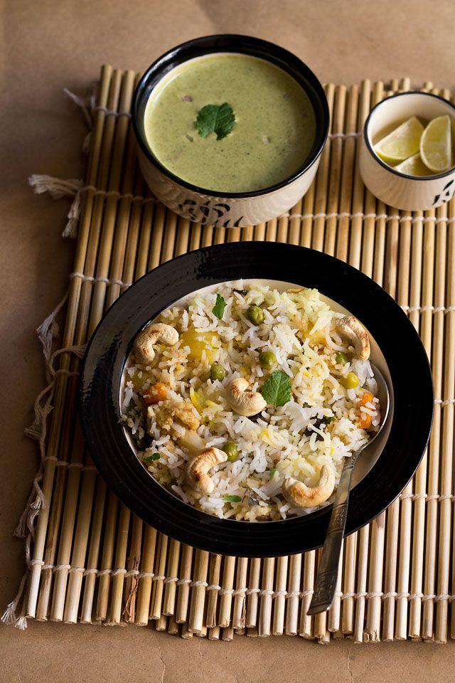 730 best rice and biriyani images on pinterest cooking food kashmiri biryani no onion no garlic veg kashmiri biryani recipe forumfinder Image collections