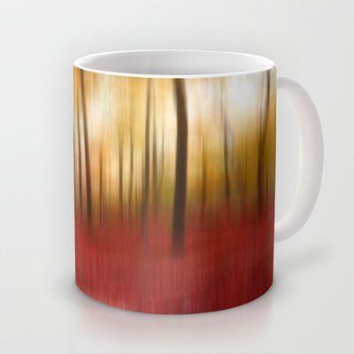 Autumn Forest Mug by Angela Bruno - $15.00 #mug, #tasse