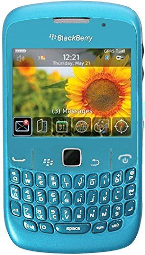 Buy Blackberry Curve 8520 Unlocked Quad-Band GSM Phone with 2MP Camera, QWERTY Keyboard, Wi-Fi and Bluetooth - Sky Blue NEW for 34.99 USD | Reusell