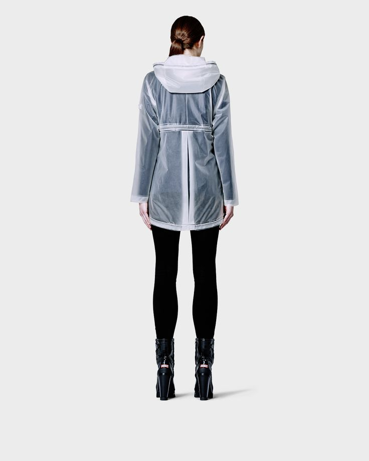 Womens White Clear Smock | Official US Hunter Boots Store