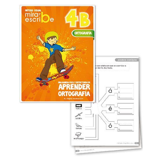 Libro Ortografía Mira Y Escribe 4 B -> http://www.masterwise.cl/productos/14-lenguaje-y-comunicacion/1921-libro-ortografia-mira-y-escribe-4-b