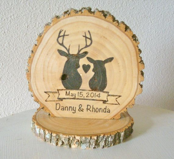 Hey, I found this really awesome Etsy listing at https://www.etsy.com/listing/189470928/personalized-rustic-cake-topper-wedding