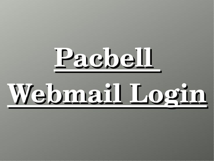 Want to setup pacbell webmail login? Call Pacbell customer support 1-844-353-5969 to know steps for pacbell email setup. Follow pacbell webmail login steps to signin Pacbell. For more details visit : https://www.slideshare.net/secret/5v1ZXhYbgYmBd7