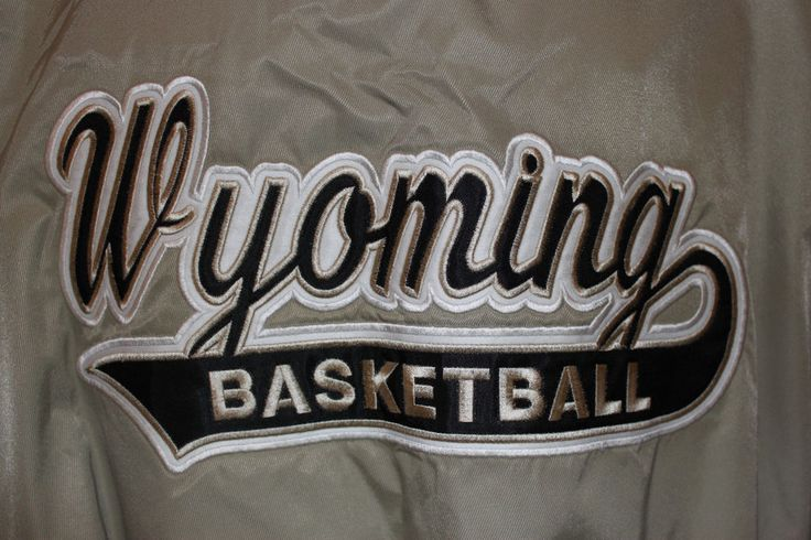Russell Athletic Warm Up Pullover Jacket Wyoming Cowboys Basketball Size XL #RussellAthletic #WyomingCowboys