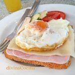 Huevos en tostadas