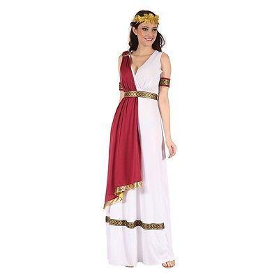 Signore Costume Dea Greca - In Maschera Partito Greco Romana Antica Toga in Abbigliamento e accessori, Carnevale e teatro, Costumi e travestimenti | eBay
