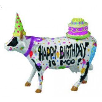 Cow parade happy birthday to moo