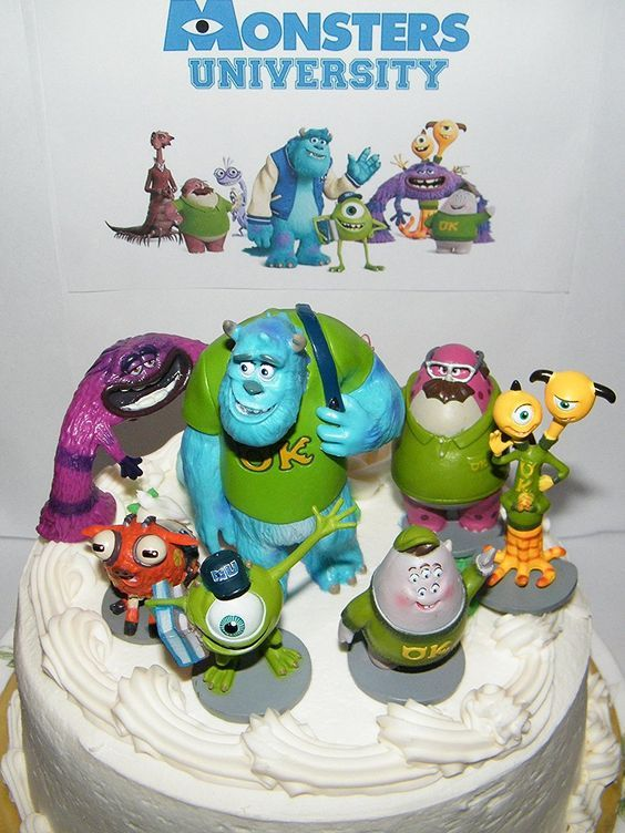 Mas de 1000 ideas sobre Decoraciones De Monsters Inc en Pinterest Cumpleanos de monsters inc ...