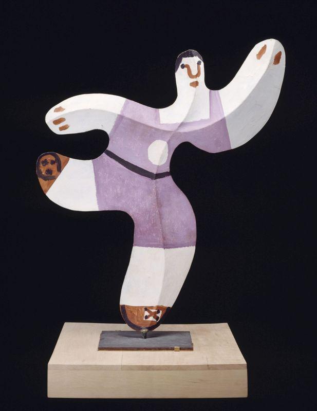 "Pablo Picasso, ""Footballeur"" (1961) © RMN-Grand Palais (musée Picasso de Paris)"