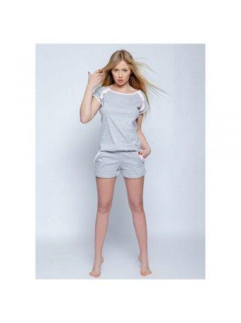 Пижама женская с шортами хлопковая Sisi 5fd8d8b1d2592