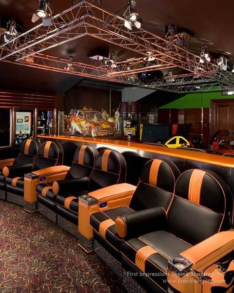 134 best ideas about man cave ideas on pinterest caves for Luxury home theater rooms