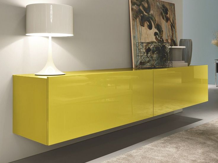SQUARE Wand- Sideboard by MisuraEmme Design Mauro Lipparini, CRS MisuraEmme