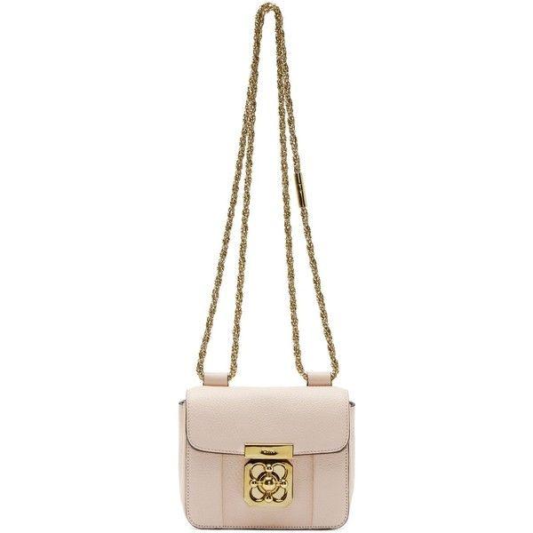 Chloe Pink Leather Mini Elsie Bag (7 555 SEK) ? liked on Polyvore ...