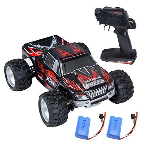 #RC #Car, #Distianert #9300 #Electric #RC #Car #Offroad #Remote #Control #Car 1:18 #Scale 2.4Ghz #4WD #High #Speed #30MPH with An #Extra 7.4V #1200MAH #Rechargeable #Battery Driving Like Lightning: Featured with gigantic #speed up to 30 MPH and powered by 390 motor, you will experience an amazing #speed with this powerful 1/18 off-road #rc #car. It is born to race, giving an extraordinary performance for different terrain. Specified Shockproof Design: Independent suspension s