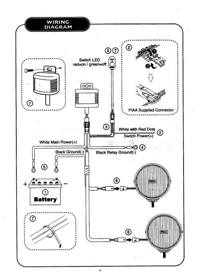 Auxiliary Light Wiring Diagram Auxiliary Reverse Light