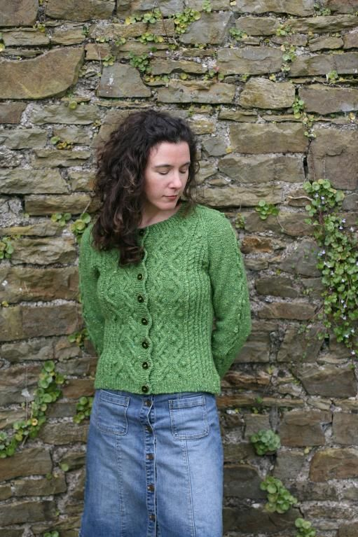 From twisting Celtic cables to tweed yarn, check out a few of Craftsy's Irish sweater patterns that pay tribute to Irish knitting.