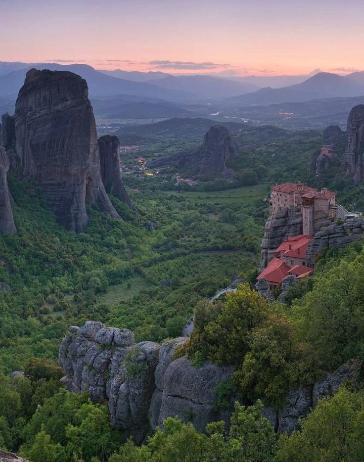 Meteora,Greece: