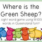 Where+is+the+Green+Sheep?+is+a+favourite+picture+book+of+all+Aussie+school+kids.++This+colourful+and+fun+sight+word+game+has+children+searching+for...