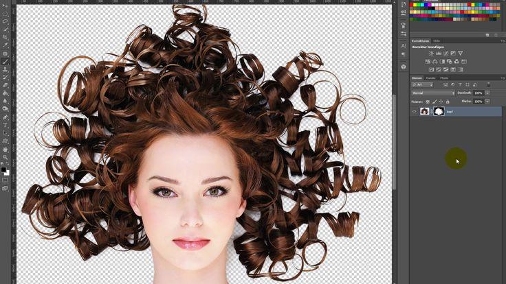 Photoshop-Tutorial – Haare freistellen