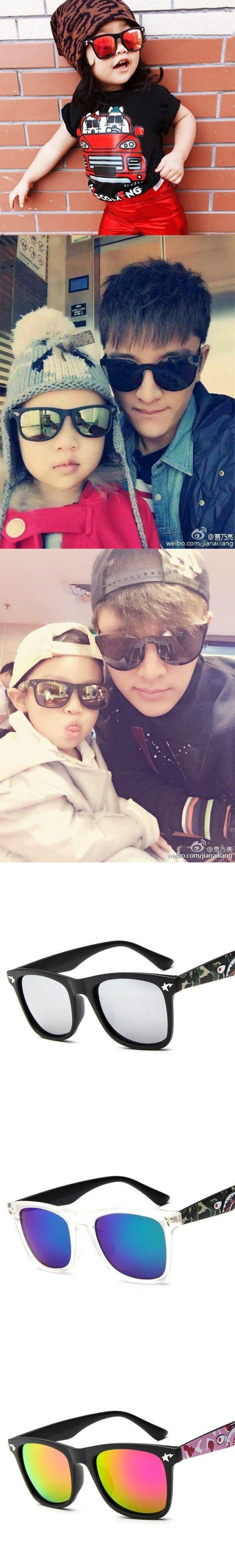 Kids Sunglasses 2016 New Fashion Korean Sunglasses Round Frame Glasses For Children YJ009
