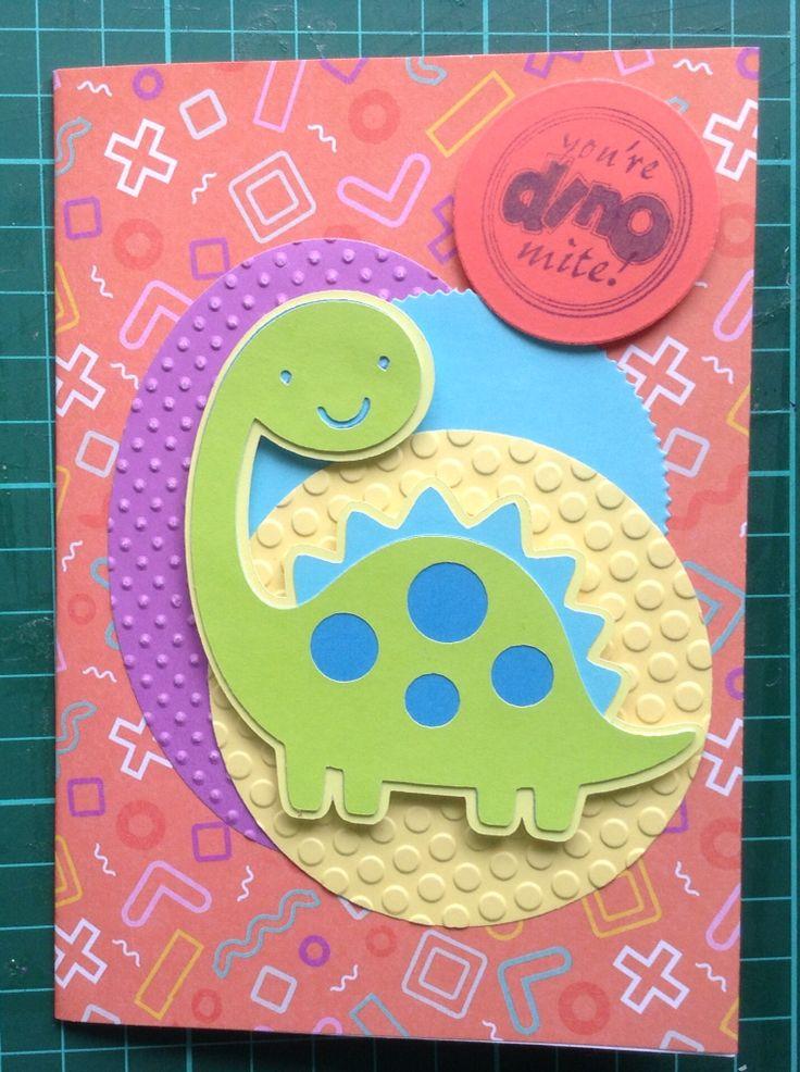 Dinosaur card :)) November 2015