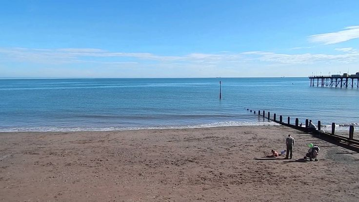 Wish You Were Here : Teignmouth Beach, South Devon. 60 second postcard ... created with love on Saturday 15 March 2014.
