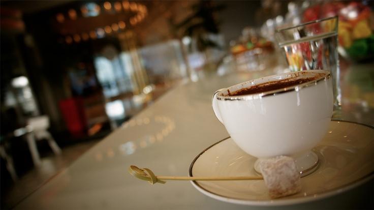Haftanın yorgunluğunu Türk kahvesi ile atmak gibisi yoktur… Lobby cafe'ye bekliyoruz.    When you want to wind down there is nothing like a cup Turkish Coffee!
