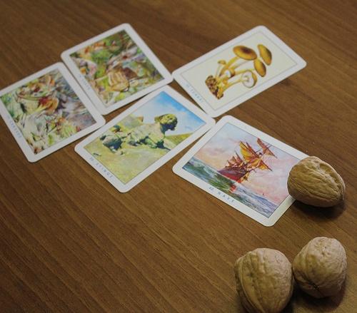 Mercante in fiera - Comprare le carte