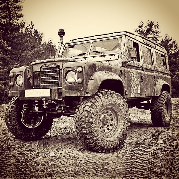 Defender (and now with V8) - first vehicle I ever drove was a '71 land rover!