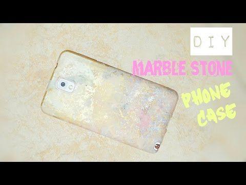 DIY Phone Case   Marble Stone Effect - YouTube