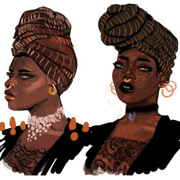 Illustrator @MunaDraws is giving witches badass makeovers in her new Halloween series! - AFROPUNK