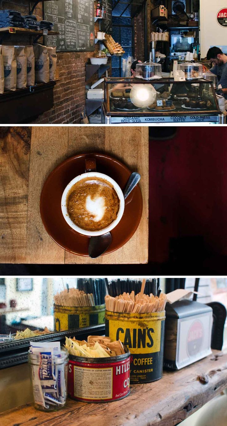 Jack's Coffee, West Village. It's a small neighbourhood cafe that's quiet, offers a few edibles and it's main drawcard is the stir brew coffee. It's a brewing process that enhances the flavour of coffee by a mechanical stirring action, ensuring the grounds are uniformly mixed, saturated and blended.