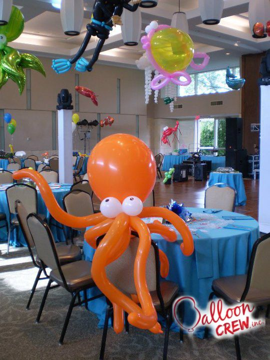 The 25 best octopus cake ideas on pinterest recipe for for Best way to paper mache a balloon
