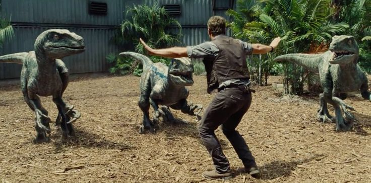 Chris Pratt's new movie - Dances with Velociraptors. ;)