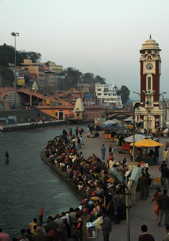 Waiting for Sunset - Haridwar, Uttarakhand, India