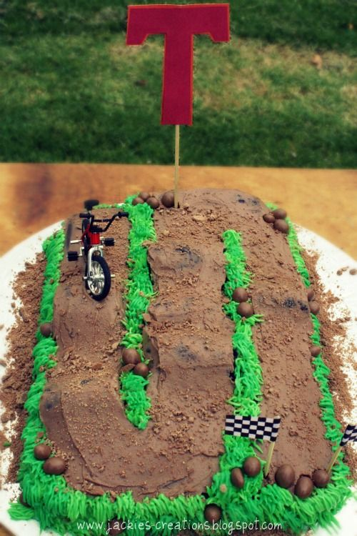 Jackie's Creations: BMX Birthday for Tristan!!