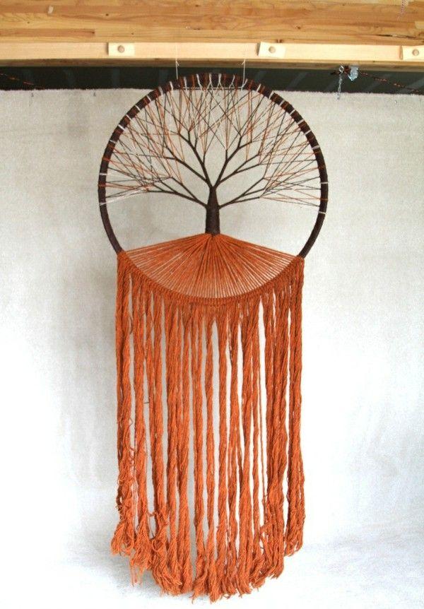 Dream catcher yourself DIY tree as motif