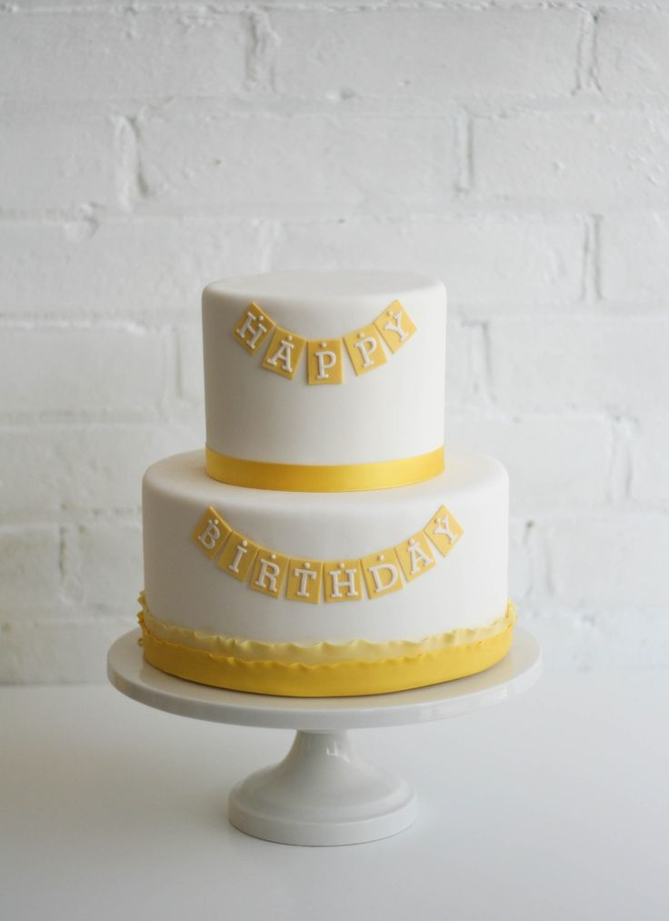 Best 25 Cakes Yellow And White Images On Pinterest Cake Wedding