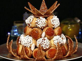 Pièce montée de croquembouche - recipe in French