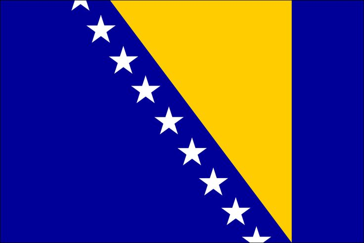 bosnian flag   bosnia and herzegovina bosnia and herzegovina flag bosnia and ...