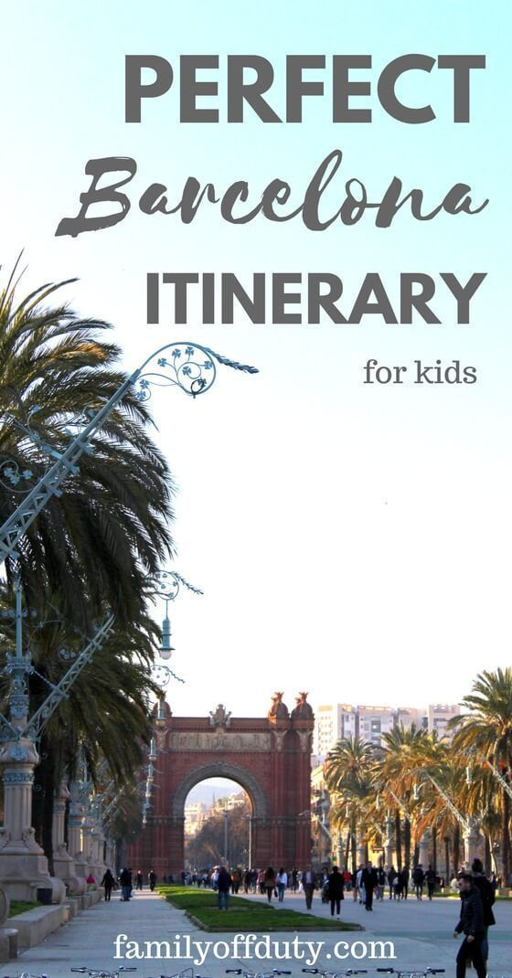 The ultimate guide for things to do with kids in Barcelona - This is a very family-friendly city. There is plenty of activities in Barcelona for the whole family. From beach to skiing check out the ideas of what you can do with your children in the Catalan capital.#familytravel #travelwithkids #MyTravelDilemma
