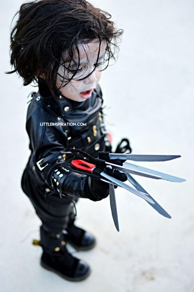 Edward Scissorhands Gloves, cute, diy, costumes, children, halloween, kids wardrobe, ideas,