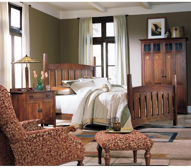 Stickley Mission Bedroom