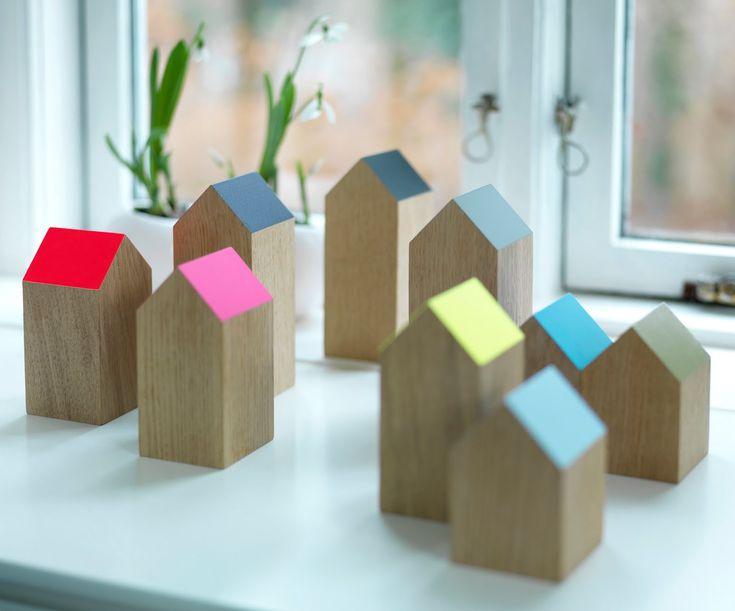 Små træ huse